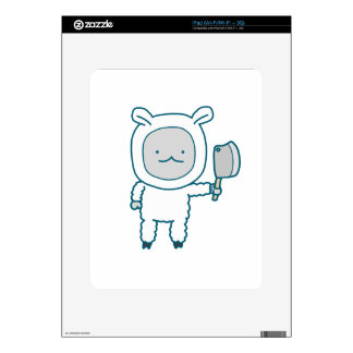 Lamp Chop iPad Decals
