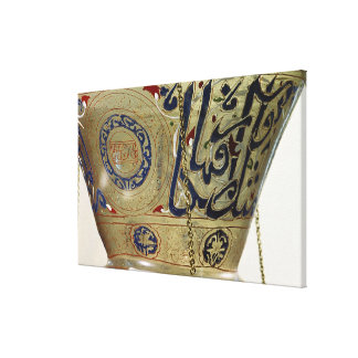 Lamp, from the Mosque of Sultan Hasan, Cairo Canvas Print