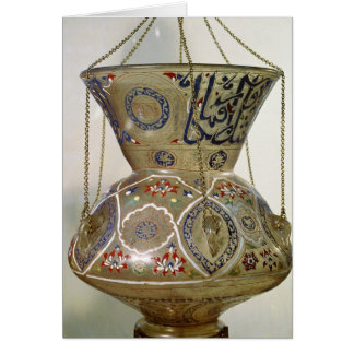 Lamp, from the Mosque of Sultan Hasan, Cairo Card