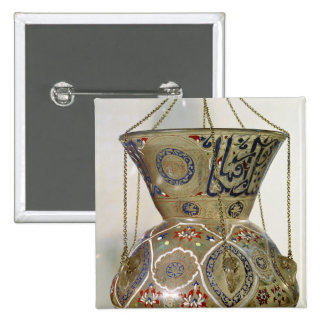 Lamp, from the Mosque of Sultan Hasan, Cairo Pinback Button