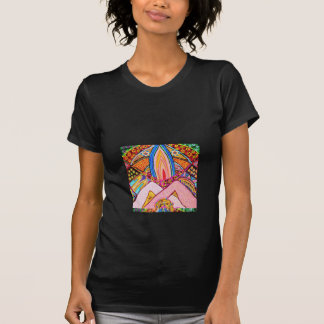 Lamp Hands Joined Together : Nameste Tee Shirts