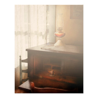 Lamp - I used to write letters Letterhead