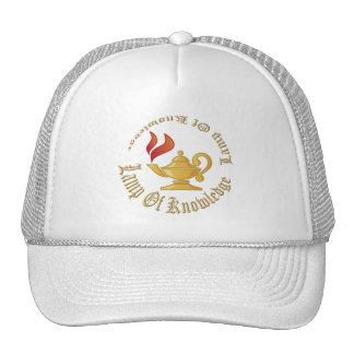 Lamp-of-Knowledge WITH TEXT Trucker Hat