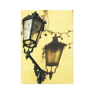 Lamp Post Art Canvas