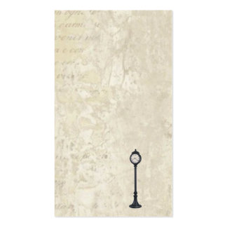 LAMP POST CALLING CARDS BUSINESS CARD TEMPLATE