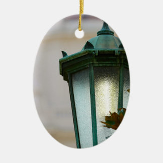 Lamp Post Ceramic Ornament