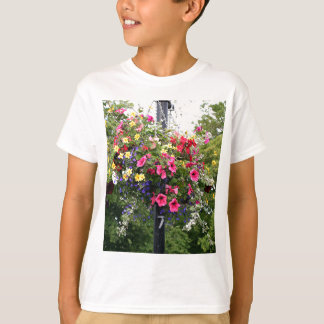 Lamp post & flowers T-Shirt