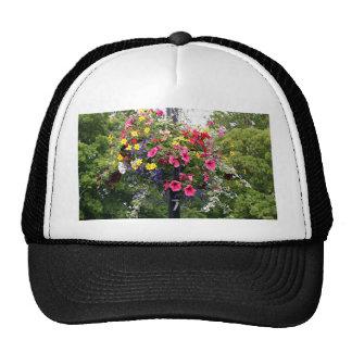 Lamp post & flowers trucker hat