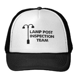 Lamp Post Inspection Team Mesh Hats