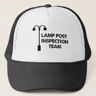 Lamp Post Inspection Team Trucker Hat