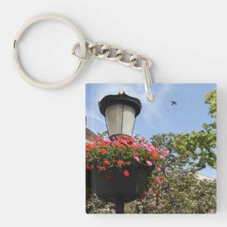 Lamp post keychain