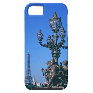 Lamp post on Pont Alexandre III Bridge and iPhone SE/5/5s Case