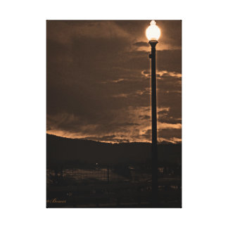 lamp post photgraphy gallery wrapped canvas
