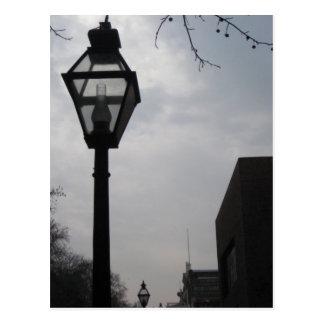 Lamp Post Postcard