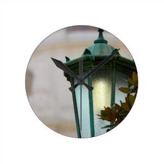 Lamp Post Wall Clocks