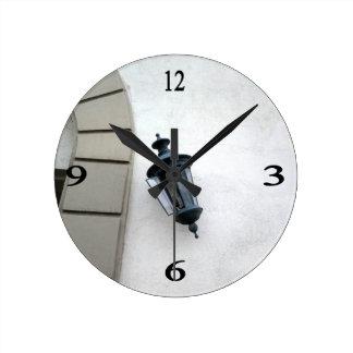 Lamp Round Wall Clock