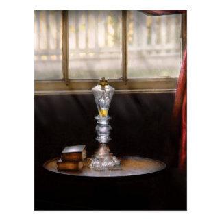 Lamp -  The oil lamp Postcard