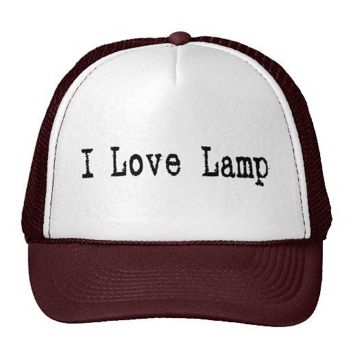 Lamp Trucker Hat