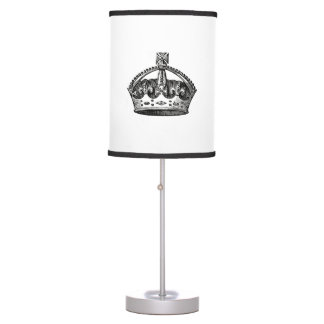 Lamp with Crown Design