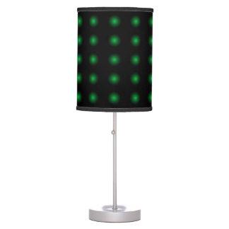 Lámpara 1 del diseño del color del verde de musgo