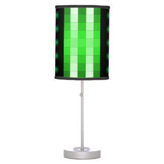 Lámpara 2 del diseño del color del verde de musgo