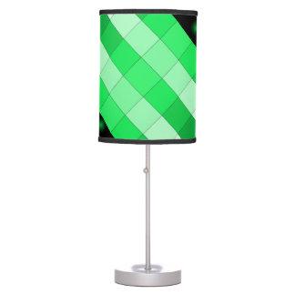Lámpara 3 del diseño del color del verde de musgo