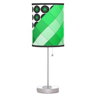 Lámpara 5a del diseño del color del verde de musgo