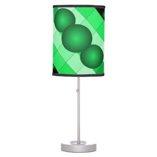 Lámpara 7 del diseño del color del verde de musgo