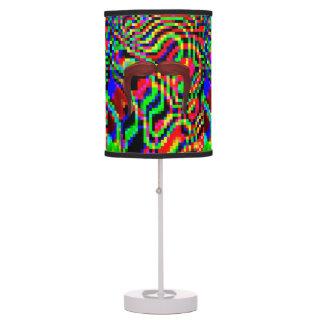 Lámpara abstracta brillante del bigote (dos estilo