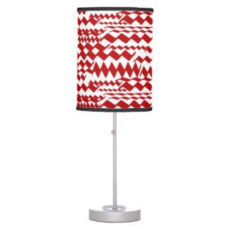 Lámpara adaptable con el modelo de zigzag