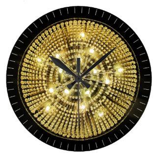 Lámpara Bling Reloj Redondo Grande