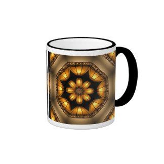 Lámpara caleidoscópica del aplique taza de dos colores