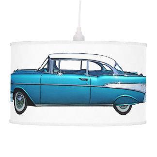 Lámpara clásica 1957 del personalizado de Chevy