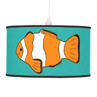 Lámpara colgante de Clownfish