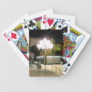 Lámpara de calle cartas de juego