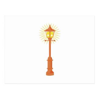 Lámpara de calle postales