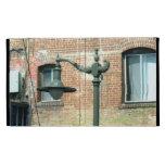Lámpara de calle verde del vintage