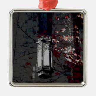 Lámpara de Cobb Pasillo con la hiedra marrón Adorno Navideño Cuadrado De Metal