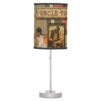 Lámpara de la cabina de tío Tom del vintage