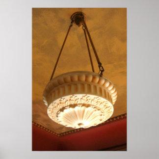 lámpara de la casa del artesano de los 1900s impresiones