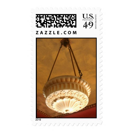lámpara de la casa del artesano de los 1900s franqueo
