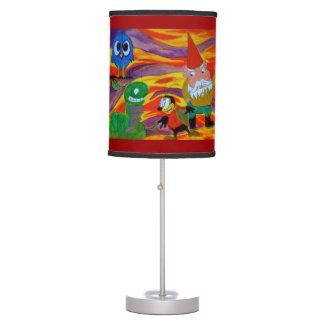 Lámpara de la ciudad de la diversión