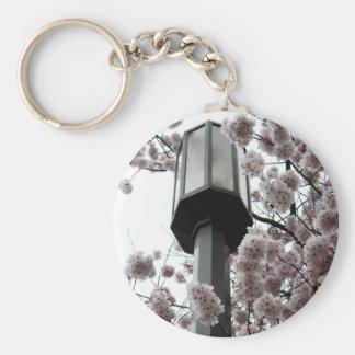 Lámpara de la flor llavero