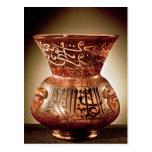 Lámpara de la mezquita con la decoración esmaltada postales