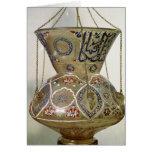Lámpara, de la mezquita del sultán Hasan, El Cairo Tarjetas