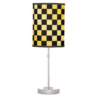 Lámpara de la MOD del tablero de ajedrez del table