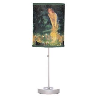 lámpara de la noche de verano