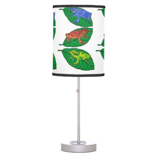 Lámpara de la rana arbórea del teñido anudado