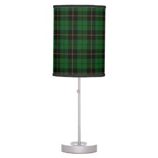 Lámpara de la tela escocesa de la caza de Wallace