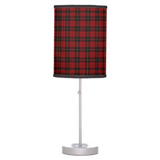 Lámpara de la tela escocesa de Wallace